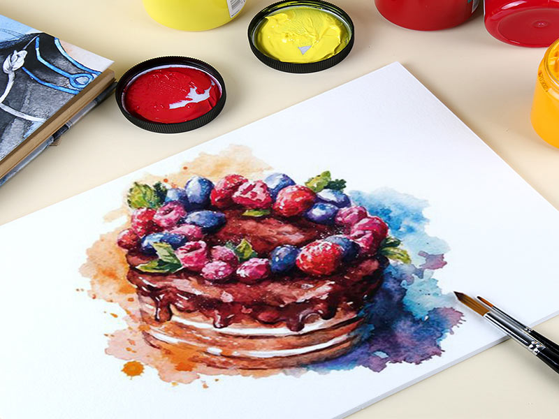 نقاشی حرفه ای با گواش