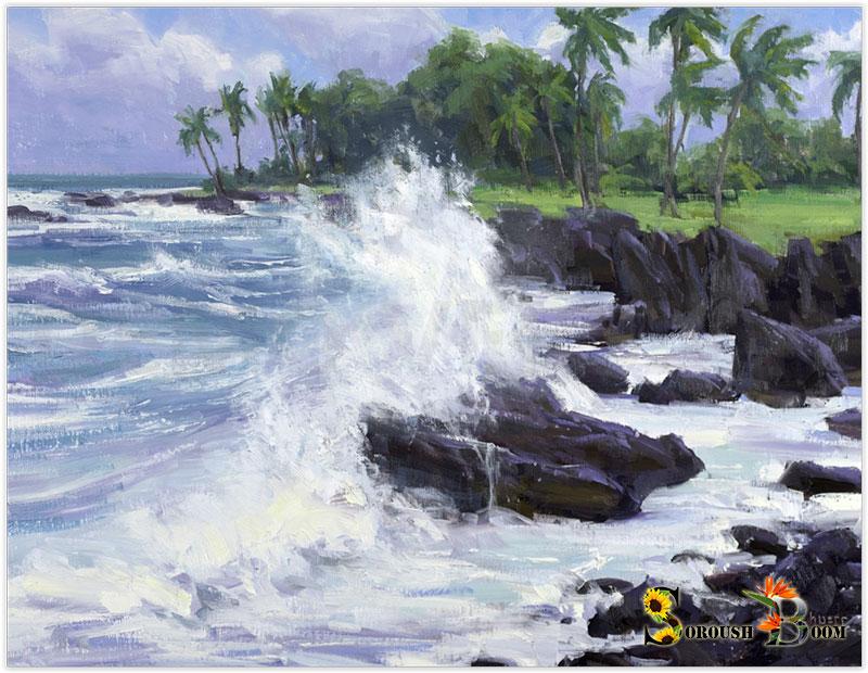 نقاشی از دریا